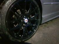 Swaps Bmw 5x120 8j 18inch nearly new tyres and alloys