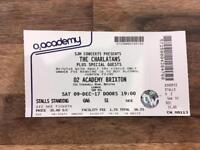 1x Charlatans Ticket - Brixton Academy - Stalls Standing - Sat 9th Dec