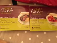 Diet Chef Ready Meals x 35
