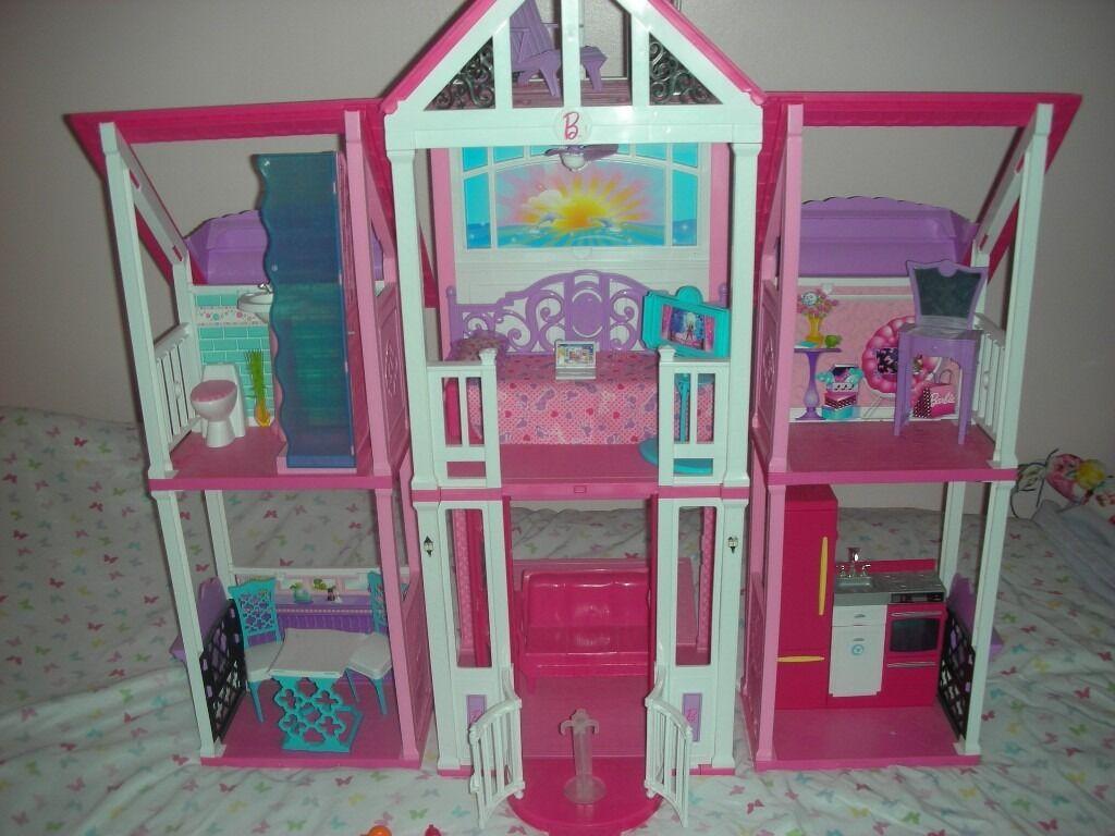 Great Xmas Gift Barbie California Dream House In