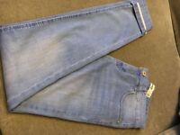 New Look Light Blue Skinny Jeans Size 10
