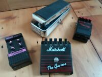 Guitar pedals clearout