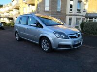 Vauxhaul Zafira, 7 seater, 1 owner from new, 12 months MOT