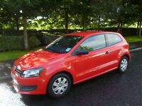 VW, VOLKSWAGON POLO, 1.2S, 2013, 13 PLATE, ONLY 9000MILES GENUINE