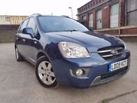 KIA Carens 2.0 CRDi LS 5dr (7 seat) FSH+SENSORS+CRUISE+7 SEATER RING NOW FOR MORE INFO 07735447270