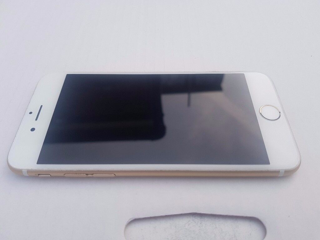 Apple iPhone 6s 64GB Gold Factory unlocked to any Network in good Condition