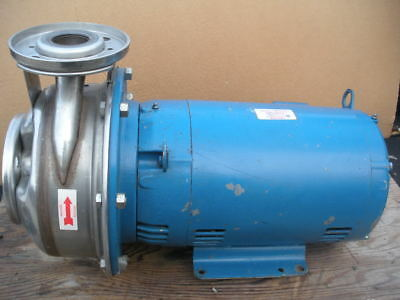 Goulds Gl Sst Stainless Centrifugal Pump 2x2-12-10 10hp 26stk1 208230v 3ph