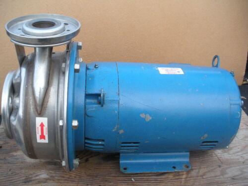 Goulds G&L SST stainless centrifugal pump 2x2-1/2-10 10HP 26STK1 208/230v 3PH