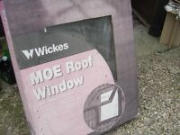 Roof window, Means of Escape New 780mm x980mm with 20mm double glazing - (similar velux type.)
