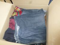 Box* of assorted clothes