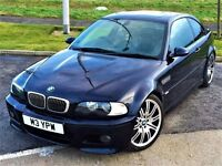 AMAZING SPEC! BMW M3 COUPE 2DR 3.2 -MANUAL- SAT NAV/TV - FULL LEATHER -19 INCH ALLOYS - FULL SERVICE