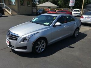 2014 CADILLAC ATS 2.0L TURBO - LEATHER HEATED SEATS, SUNROOF, BL