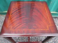 Small Lexterten Side End Occasional Corner Coffee Table British 1980's Classic