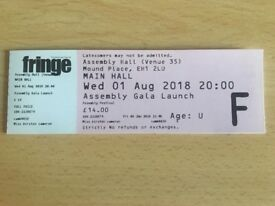 Assembly Gala Launch Ticket, Wed 1st