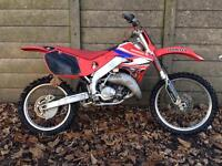 Honda cr125 motocross bike 1999 mx crosser 125. 125cc swap px road bike