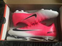 New Nike Mercurial Pink/Black Football boots