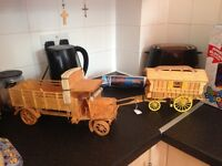Match stick modle gypsy wagon and truck