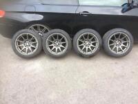 Axe ex8 alloys with tyres