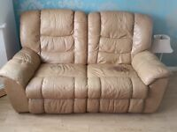 Free - Power recliner 2/3 seater sofa