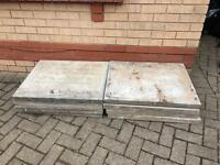 8 concrete patio slabs free free free