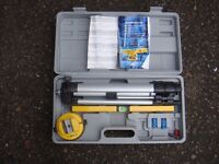 Parkside Electric laser spirit level tool, used but still in great condition