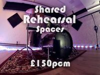 Permanent Rehearsal Space Shared Manchester City Centre