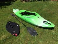 Perception Method Air kayak incl. paddle and spraydeck