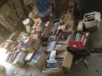 25+boxes 400+ Books - paperbacks hardbacks novels - perfect for Boot Sales - EBAY LISTING