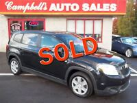 2012 Chevrolet Orlando LT 7 PASS!! CRUISE!! PW!! PL!! AIR!! NEWL