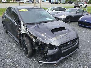 2015 Subaru WRX LIMITÉE AWD TOUT ÉQUIPÉE AVEC CUIR ET TOIT OUVRA
