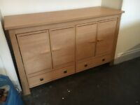 Sideboard & TV Unit - £90 for both or £50 each