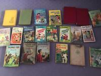 Vintage Enid Blyton books
