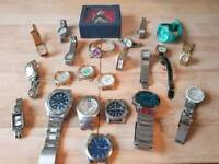 Gents and ladies watches