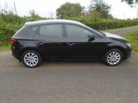 13 Seat, LEON 1.6 tdi se T/diesel 5 doors black top spec technology pack clean sh 00 Tax