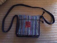 Handmade Cotton Across the Body Bag.