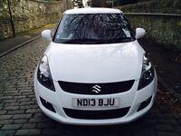 2013 Suzuki Swift Sz4 1,2 petrol 94 BHP Full Service History, Low mileage 30k, £3850