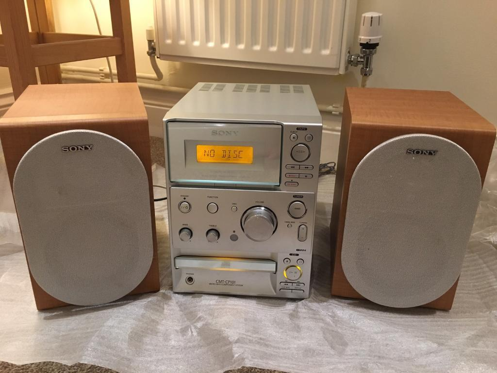 Retro/Vintage Stereo - cassette tape player/recorder, CD player and radio