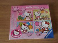 Box Of 4 Ravenburger Hello Kitty Jigsaw Puzzles
