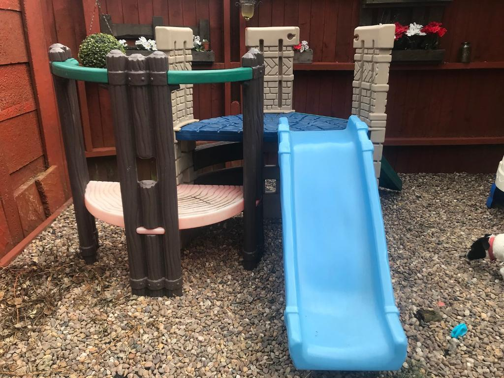 Little tikes castle and climbing frame | in Nottingham ...
