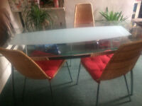 House clearance: TV, desk, table, chairs, sofa bed to be sold!!!