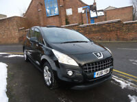 2011 PEUGEOT 3008 SPORT 1.6 HDI 6 SPEED MANUAL GEARBOX FULL SERVICE HISTORY COME WITH 12 MONTHS MOT