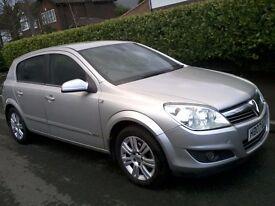 Vauxhall Astra 1.8 i 16v Design 5 door 2007 85k Full MOT, Half Leather, New Cam Belt