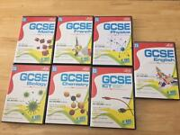 7 Pack Letts GCSE PC revision guides