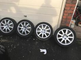 Peugeot 207 gti wheels