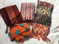 Long length scarves/ shawls