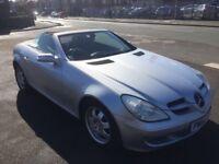 Automatic Convertible Mercedes-Benz SLK 1.8L Petrol