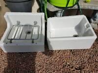 2 belfast sinks vgc Original