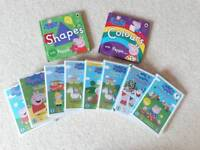 Peppa Pig Books, DVDs & lunchbag bundle