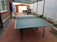 Table tennis table full size dunlop