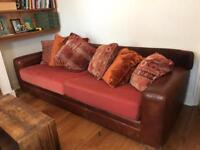 Vintage leather tetrad sofa chair
